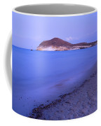 Blue Sea At Sunset Coffee Mug by Guido Montanes Castillo