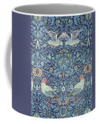 Blue Tapestry Coffee Mug by William Morris
