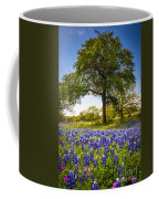 Bluebonnet Meadow Coffee Mug by Inge Johnsson