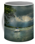 Boat - Canandaigua Ny - Tranquility Before The Storm Coffee Mug by Mike Savad