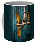Boat - Propulsion  Coffee Mug by Mike Savad