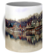 Boathouse Row Philadelphia Coffee Mug by Tom Gari Gallery-Three-Photography