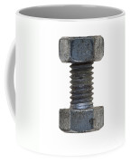 Bolt With Nut Coffee Mug by Michal Boubin