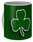 Boston Celtics Coffee Mug by Tony Rubino