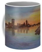 Boston Charles River At Sunset  Coffee Mug by Donna Walsh