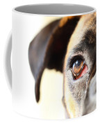 Boxer's Eye Coffee Mug by Jana Behr