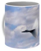 Breaking Through Coffee Mug by Adam Romanowicz