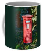 British Mail Box Coffee Mug by Paul Ward