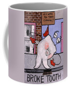 Broke Tooth Coffee Mug by Anthony Falbo