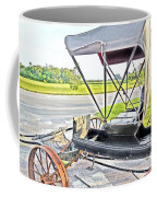 Buggy By The Road Coffee Mug by Eloise Schneider