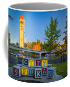 Building The City Coffee Mug by Inge Johnsson