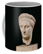 Bust Of Emperor Claudius Coffee Mug by Anonymous