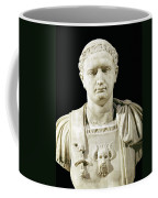 Bust Of Emperor Domitian Coffee Mug by Anonymous