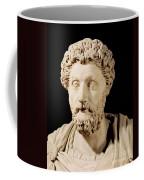 Bust Of Marcus Aurelius Coffee Mug by Anonymous