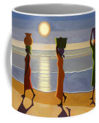 By The Beach Coffee Mug by Tilly Willis