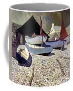 Cadgwith The Lizard Coffee Mug by Eric Hains