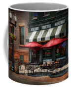 Cafe - Albany Ny - Mc Geary's Pub Coffee Mug by Mike Savad