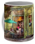 Cafe - Hoboken Nj - Empire Coffee And Tea Coffee Mug by Mike Savad