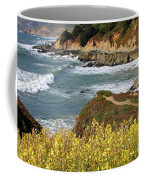 California Coast Overlook Coffee Mug by Carol Groenen