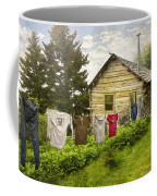 Camp Leconte Coffee Mug by Debra and Dave Vanderlaan