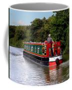Canal Boat Coffee Mug by Terri Waters