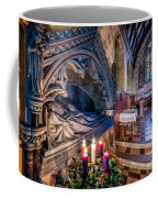 Candles At Christmas Coffee Mug by Adrian Evans