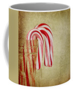 Candy Canes Coffee Mug by Kim Hojnacki
