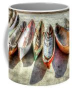 Canoes Coffee Mug by Debra and Dave Vanderlaan