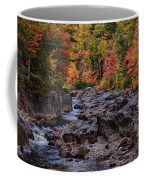 Canyon Color Rushing Waters Coffee Mug by Jeff Folger
