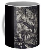 Carceri Vii Coffee Mug by Giovanni Battista Piranesi