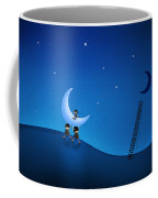 Carry The Moon Coffee Mug by Gianfranco Weiss