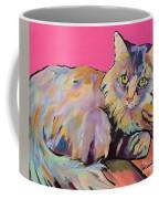 Catatonic Coffee Mug by Pat Saunders-White