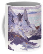 Cathedral Rock  Iona Coffee Mug by Francis Campbell Boileau Cadell