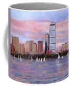 Charles River Boston Coffee Mug by Jack Skinner