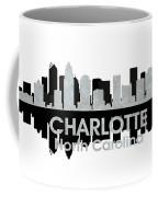 Charlotte Nc 4 Coffee Mug by Angelina Vick