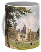 Charter House From The Play Ground Coffee Mug by William Westall