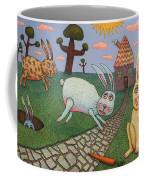 Chasing Tail Coffee Mug by James W Johnson