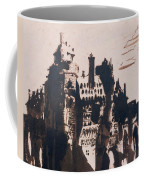 Chateau Fortified By Two Bridges Coffee Mug by Victor Hugo