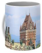 Chateau Frontenac Quebec City Canada Coffee Mug by Edward Fielding