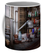 Chemist - My Retort Is Better Than Yours  Coffee Mug by Mike Savad