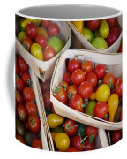 Cherry Tomatos Coffee Mug by Carlos Caetano