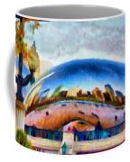 Chicago Reflected Coffee Mug by Jeff Kolker