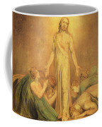 Christ Appearing To The Apostles After The Resurrection Coffee Mug by William Blake