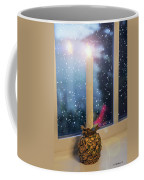 Christmas Candle Coffee Mug by Brian Wallace
