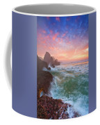 Christmas Eve Sunset Coffee Mug by Darren  White