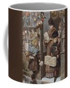 Christmas Gifts Coffee Mug by Adrien Emmanuel Marie