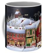 Christmas In Holly Ridge Coffee Mug by Catherine Holman