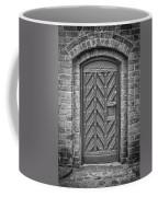Church Door 02 Coffee Mug by Antony McAulay