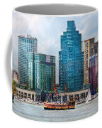 City - Baltimore Md - Harbor East  Coffee Mug by Mike Savad