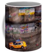 City - New York - Greenwich Village - Life's Color Coffee Mug by Mike Savad